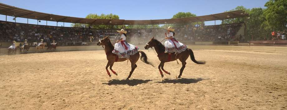 A Day in Old Mexico & Charreada: Off the beaten path on the South Side, the charreada, put on by the Asociación de Charros de San Antonio, is a great way to wind down Fiesta on the final day.
