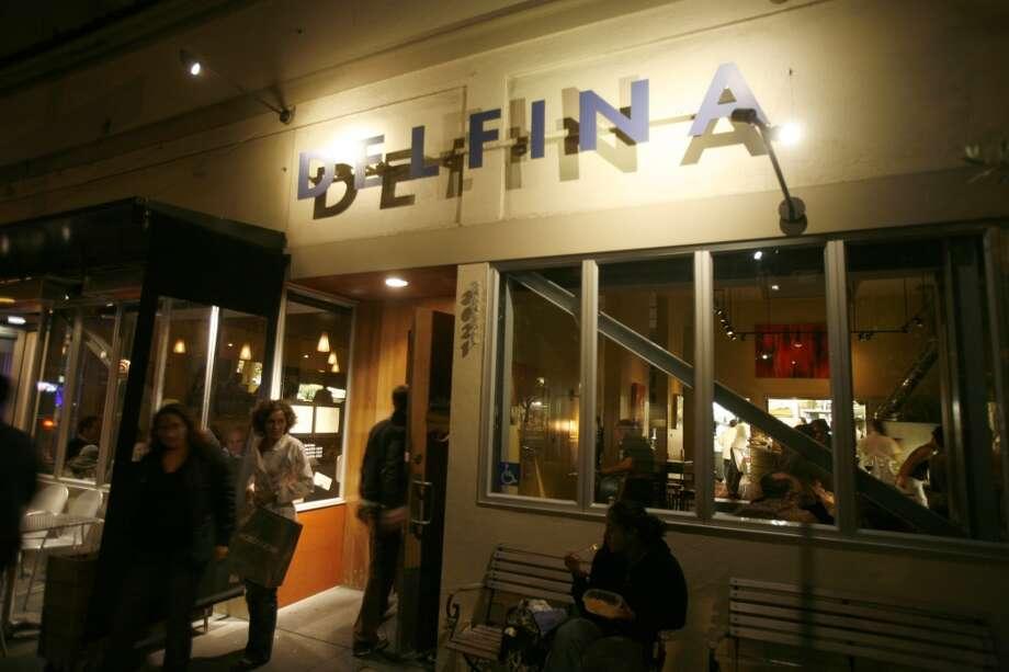 Delfina\'s exterior.