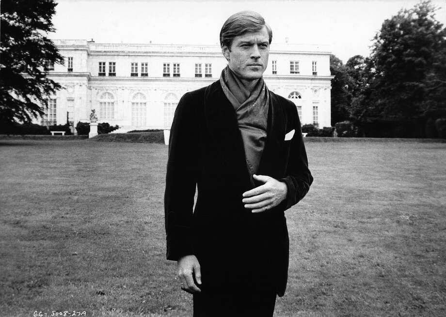 Robert Redford outside of mansion in a scene from the film 'The Great Gatsby', 1974. Photo: Archive Photos, Getty Images / 2012 Getty Images