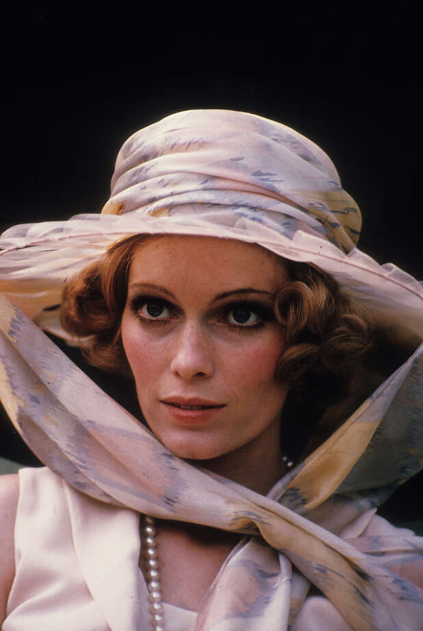 Mia Farrow wearing hat in a scene from the film 'The Great Gatsby', 1974. Photo: Michael Ochs Archives, Getty Images / 2012 Getty Images