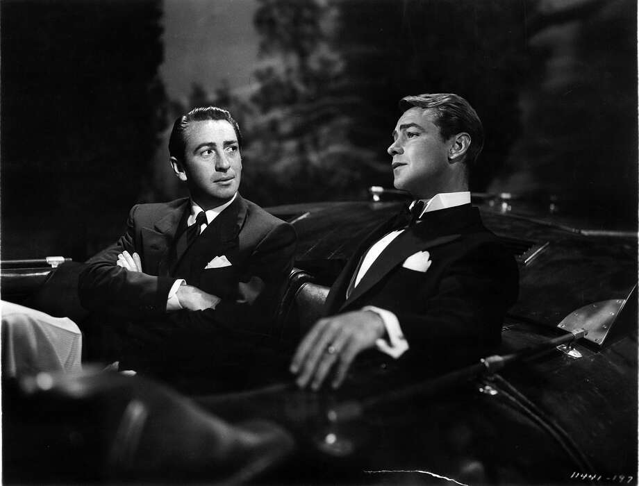 MacDonald Carey sitting in a car with Alan Ladd in a scene from the film 'The Great Gatsby', 1949. Photo: Archive Photos, Getty Images / 2011 Getty Images