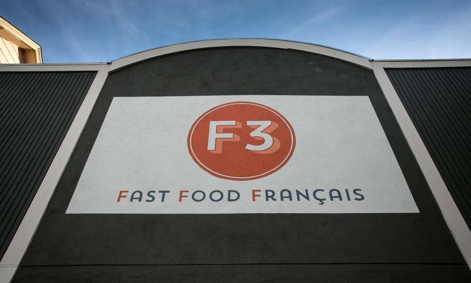 The exterior of Fast Food Francais..