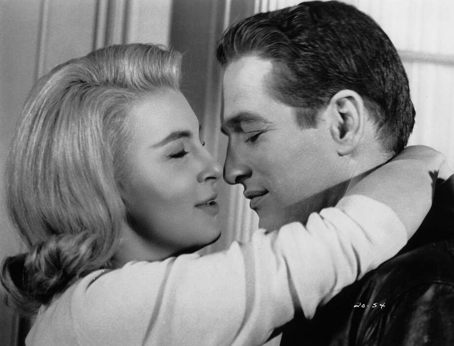 Joanne Woodward and Paul Newman embrace in a scene from the film 'From The Terrace', 1960. Photo: Archive Photos, Getty Images / 2012 Getty Images