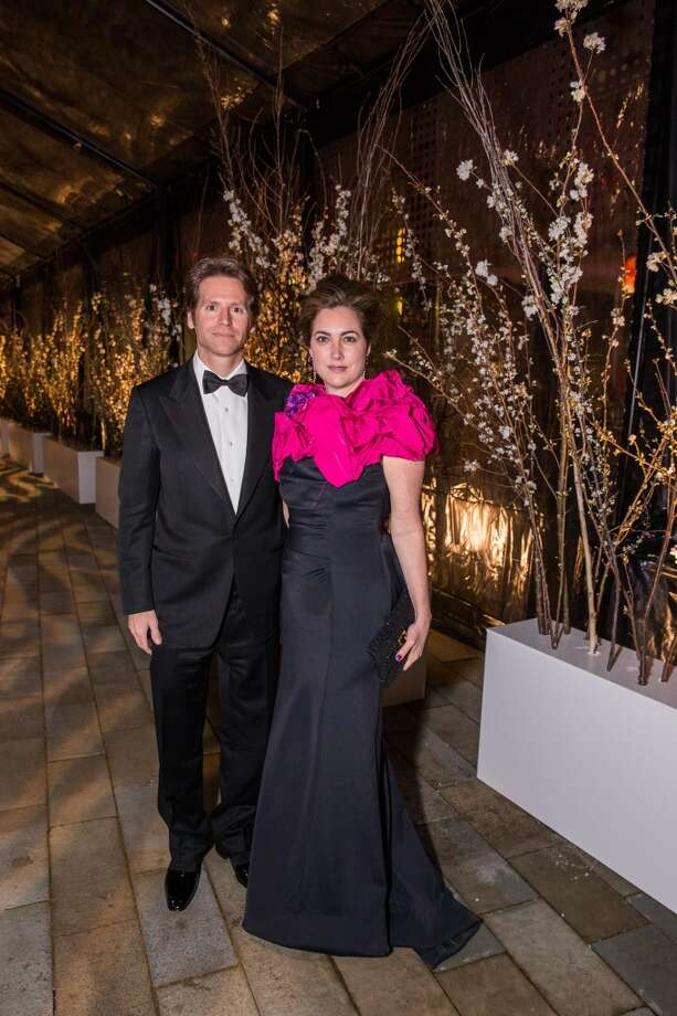Trevor Traina and Alexis Traina at FAMSF\'s Midwinter Gala on March 09, 2013.