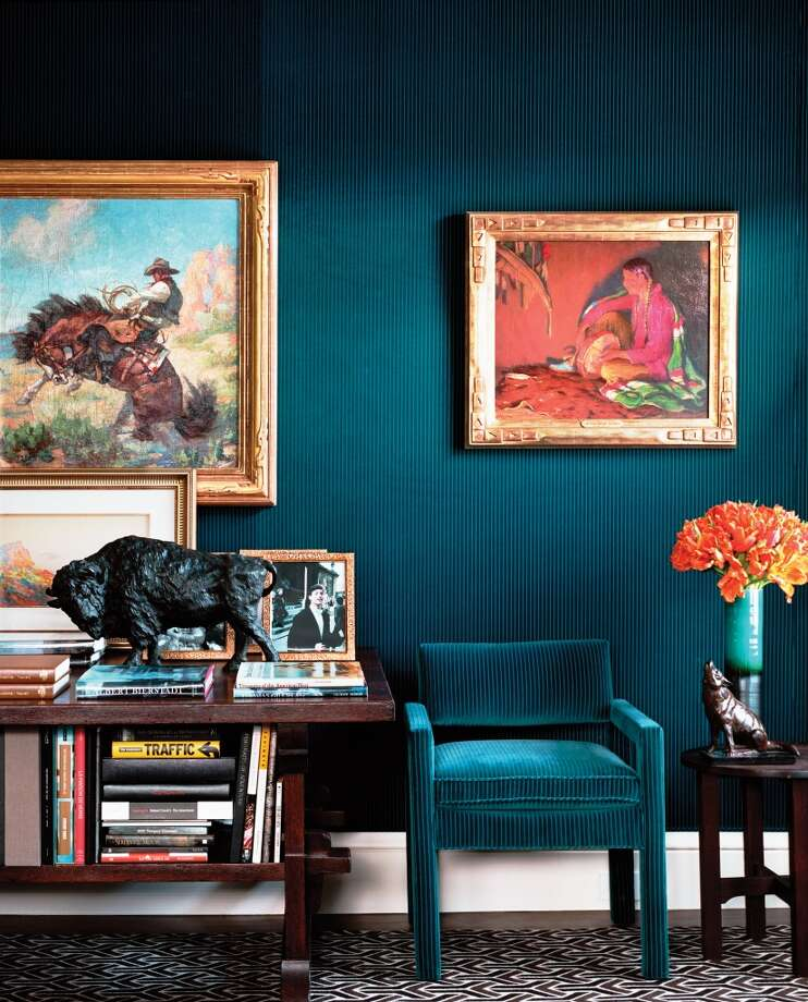 "A few more rooms from Alexis and Trevor Traina\'s San Francisco residence, featured in ""Ann Getty: Interior Style\"" (Rizzoli), written by Diane Dorrans Saeks and  photographed by Lisa Romerein."