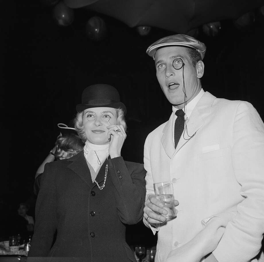 Photo of Paul Newman, 1958, California, Hollywood, Paul Newman and Joanne Woodward attending a costume party/charity event. Photo: Michael Ochs Archives, Getty Images / Michael Ochs Archives