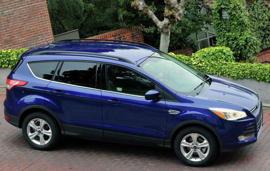 Redesigned for 2013, the Ford Escape moves into its third generation with a new body that's much more sporty looking and sleeker than its predecessor. Photo: Ford Motor Co.