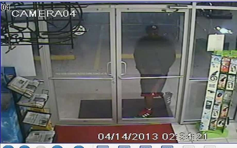 Montgomery County Sheriff's Office deputies are searching for three men that stole an ATM machine from a Spring convenience store over the weekend after crashing a stolen truck through the building. Photo: Montgomery County SO