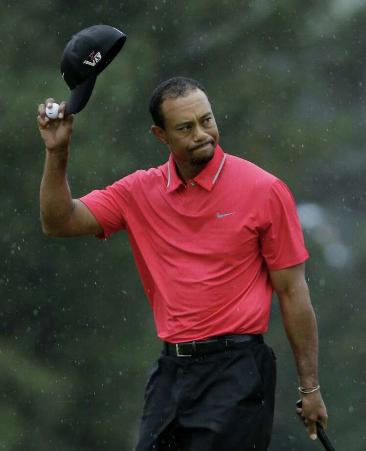 Readers think Tiger Woods should have been disqualified for an illegal drop in the second round of the Masters tournament. Photo: Matt Slocum, Associated Press