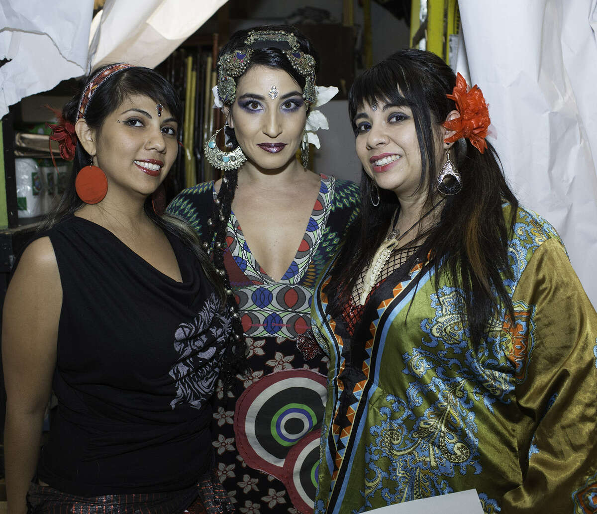 Marisa Gonzalez (from left), Silvia Salamanca and Gio Bazaldua