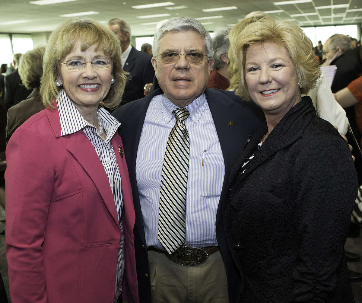 Tracie and Keith Martin (from left) and Bekki Kowalski