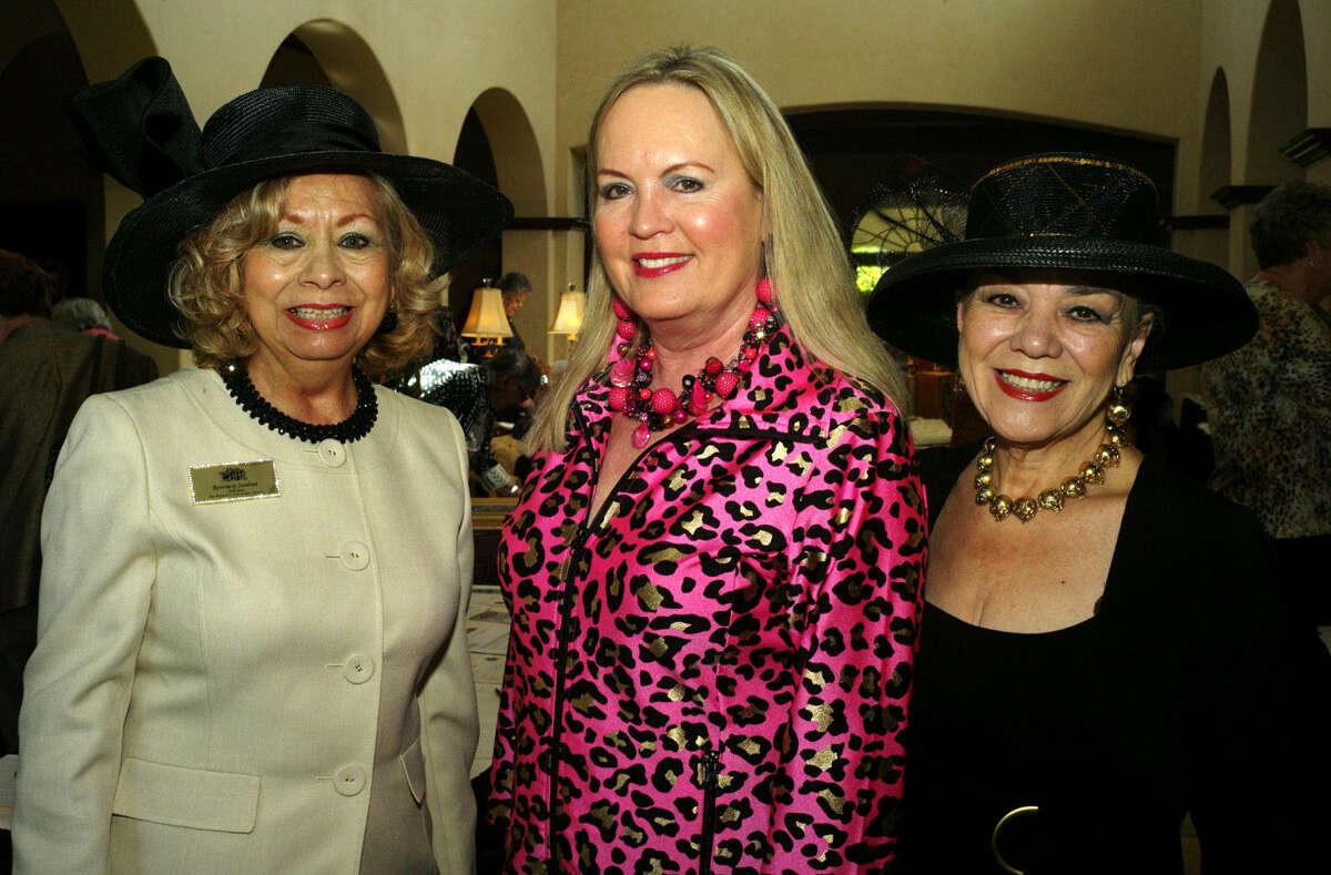 Rosemary Sundeen (from left), Tawana Timberlake and Belinda Pena-Bosque