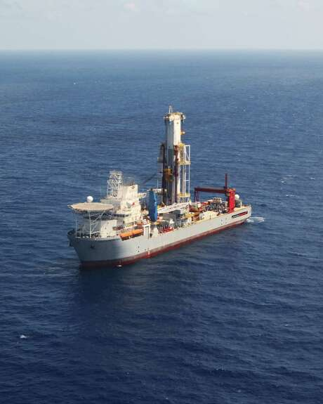 Noble Corp.'s Globetrotter I drillship was working for Shell in the Gulf of Mexico as of January. Photo: Noble Corp.