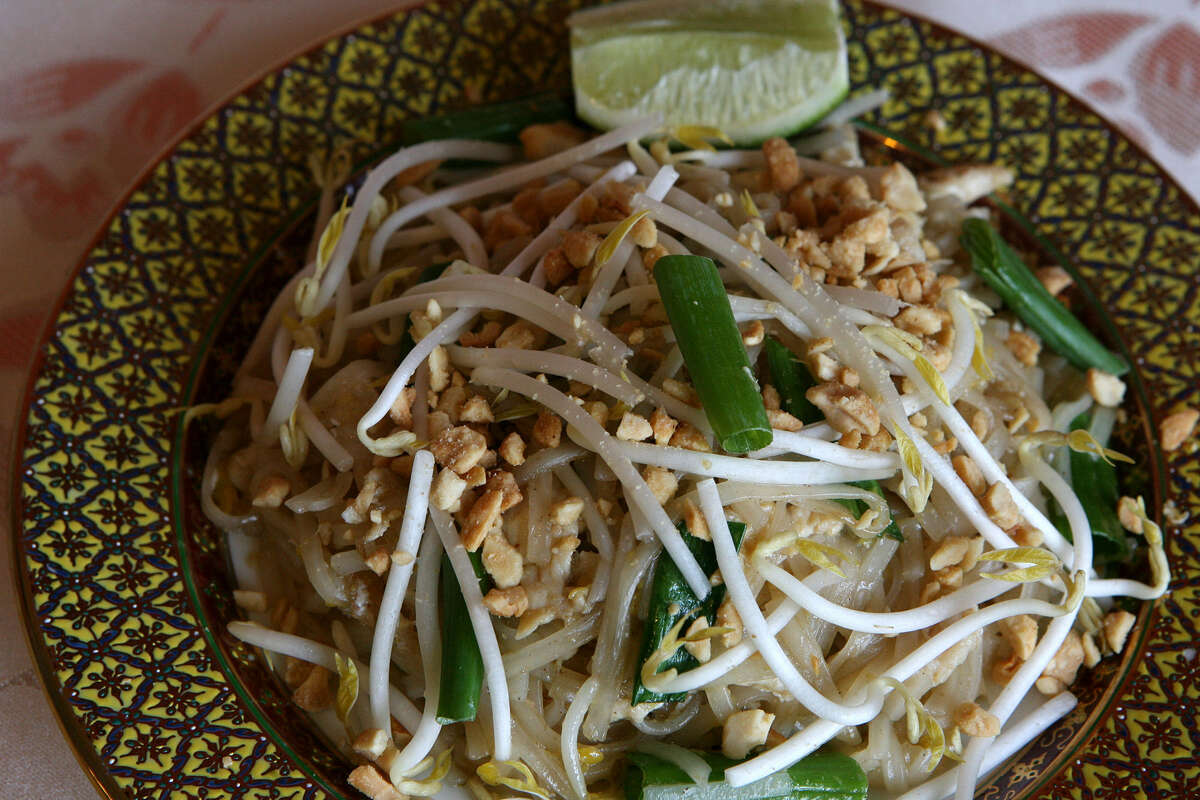 Classic pad thai aims to balance sweet, sour and pungent flavors with a touch of heat.