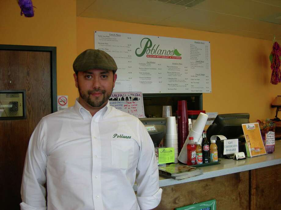 Eric Valadez, who co-owns Poblano's with his brother, opened a Medical Center location in November. Photo: Stefanie Arias / San Antonio Express-News