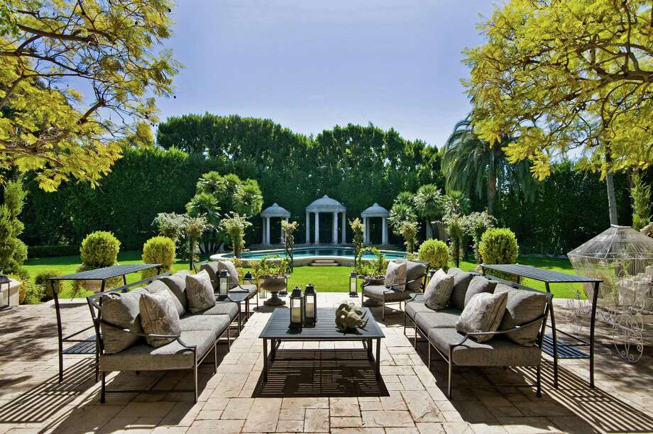 Syndicated radio host Casey Kasem and his wife, Jean, are listing their estate on Los Angeles, California's Westside for $42 million. (Los Angeles Times/MCT) Photo: Handout / Los Angeles Times