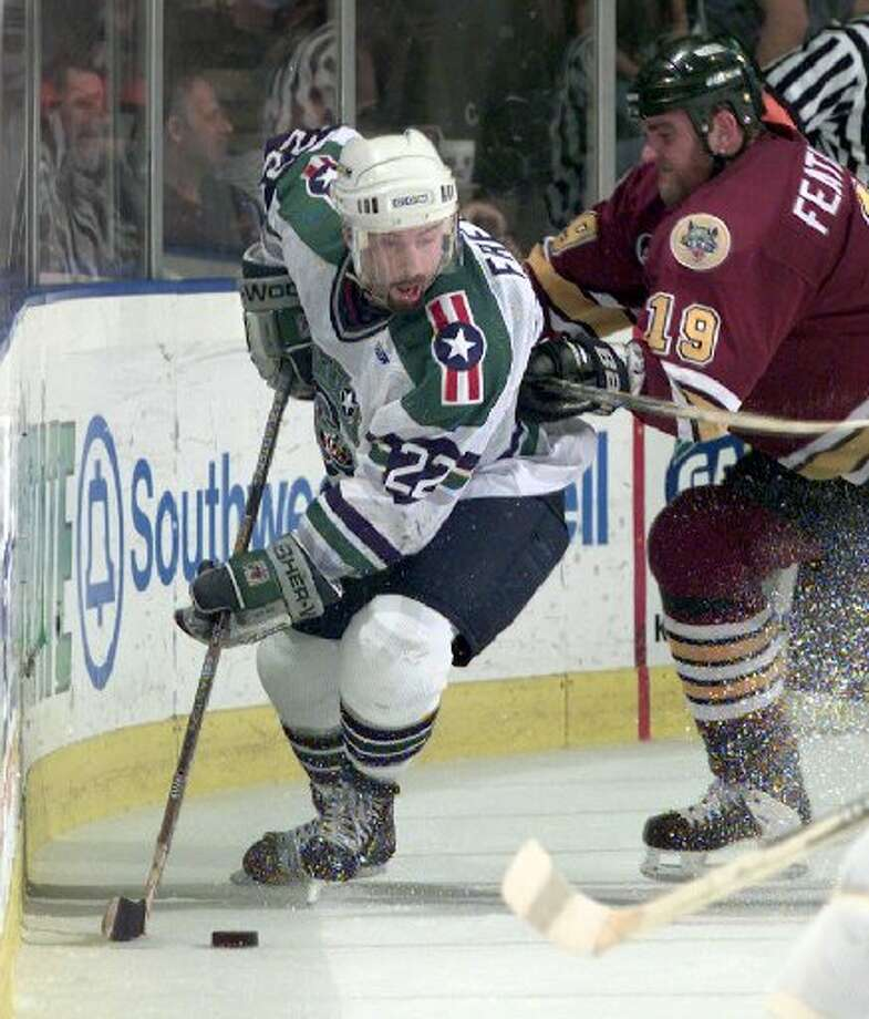 Mark Freer   Mark Freer is the Aeros' all-time leader in goals (132), assists (210) and points (342). Photo: Smiley N. Pool, Houston Chronicle