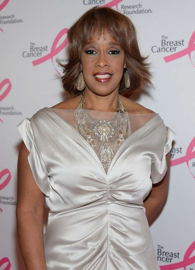 Gayle King attends the 2013 Hot Pink Party at The Waldorf=Astoria on April 17, 2013 in New York City.  (Photo by Dimitrios Kambouris/Getty Images)