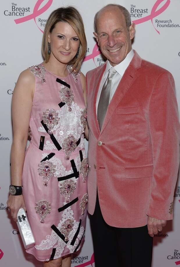 Jonathan Tisch and Lizzie Tisch attend the 2013 Hot Pink Party at The Waldorf=Astoria on April 17, 2013 in New York City.  (Photo by Dimitrios Kambouris/Getty Images)