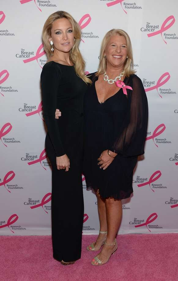 Kate Hudson and Kay Krill attend the 2013 Hot Pink Party at The Waldorf=Astoria on April 17, 2013 in New York City.  (Photo by Dimitrios Kambouris/Getty Images)