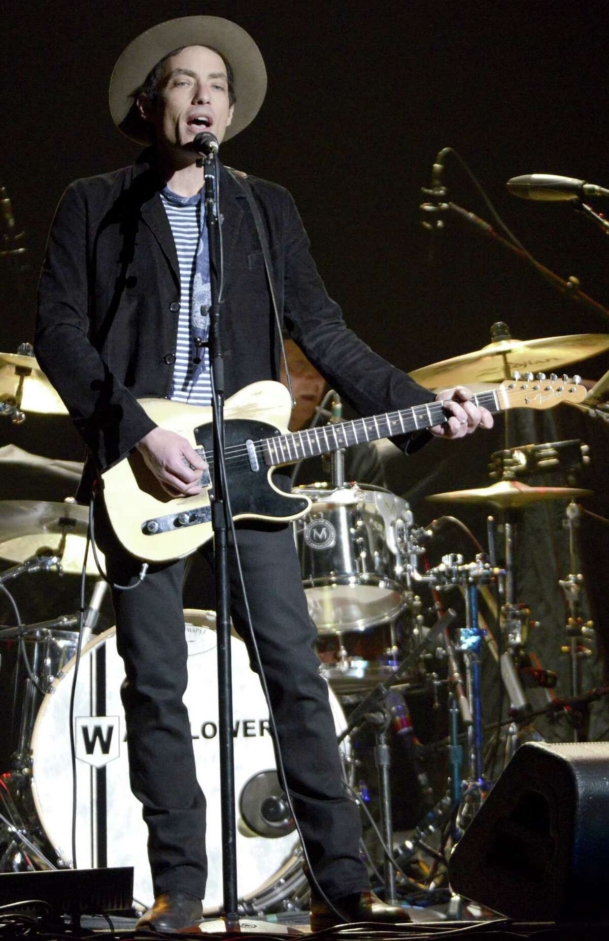 AUSTIN, TX - MARCH 17: Jakob Dylan of The Wallflowers performs in support of the bands' Glad All Over release at the Frank Irwin Center on March 17, 2013 in Austin, Texas. (Photo by Tim Mosenfelder/Getty Images)