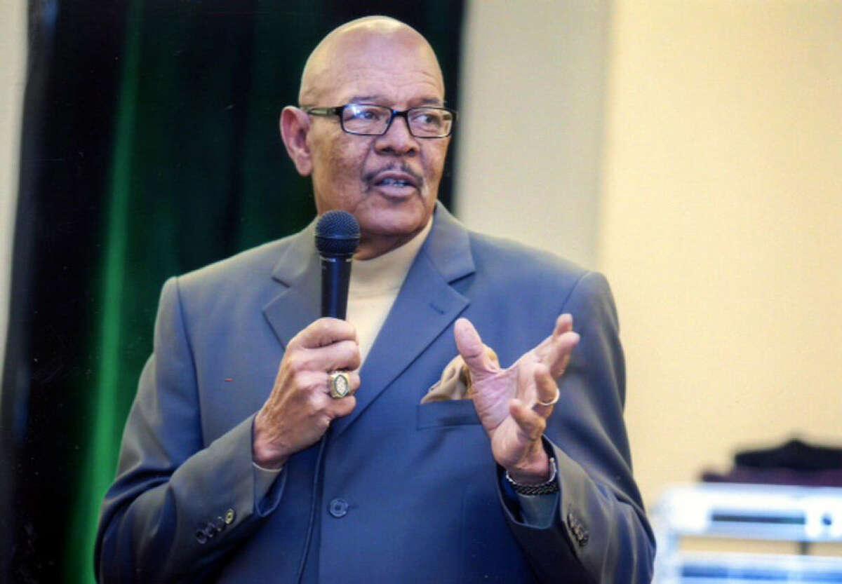 "R.A. Johnson ""had a no-non- sense approach"" to athletics and academics, said former student Mark Latham."