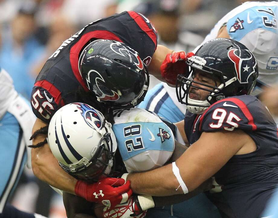 Sept. 15 – Tennessee Time: Noon TV: CBSMcClain comment: First game against division opponent that spent $105 million on free agents.  Prediction: Texans 30-10  Record: 2-0 Photo: Nick De La Torre , Chronicle
