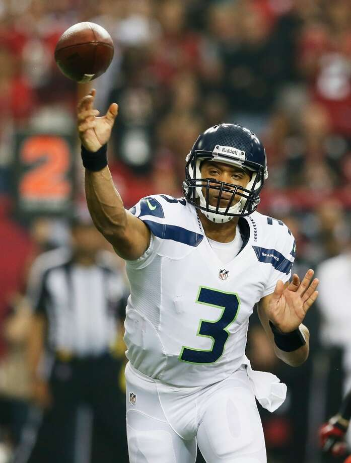 Sept. 29 – Seattle Time: Noon TV: FOX  McClain comment: Defense gets its first look at last year's rookie sensation, QB Russell Wilson.  Prediction: Texans 24-21  Record: 3-1 Photo: Kevin C. Cox, Getty Images