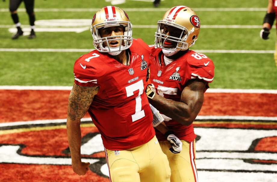Oct. 6 – At San Francisco Time: 7:30 p.m. TV: NBC  McClain comment: Defending NFC champion and QB Colin Kaepernick plan to win Super Bowl.  Prediction: 49ers 27-23   Record: 3-2 Photo: Ronald Martinez, Getty Images