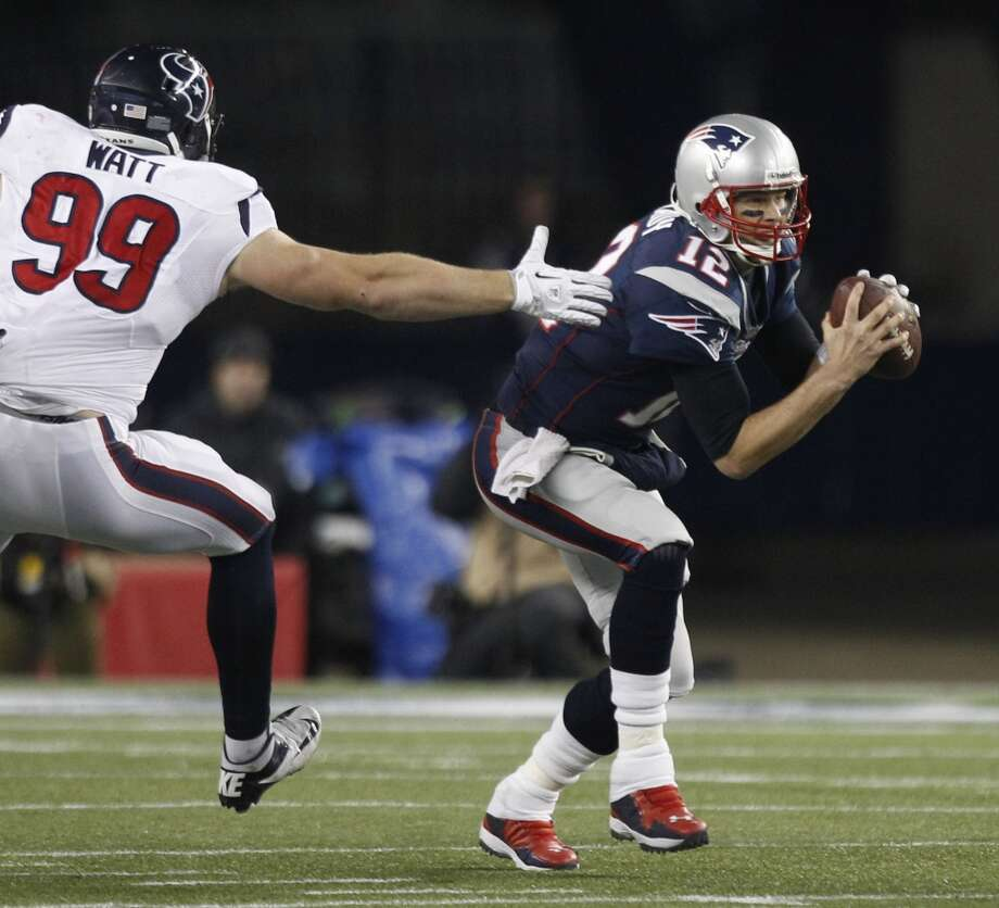Dec. 1 –  New England Time: 3:25 p.m. TV: CBSMcClain comment: Texans get revenge after being embarrassed at New England two times in 2012.  Prediction: Texans 33-30  Record: 10-2 Photo: Brett Coomer, Chronicle
