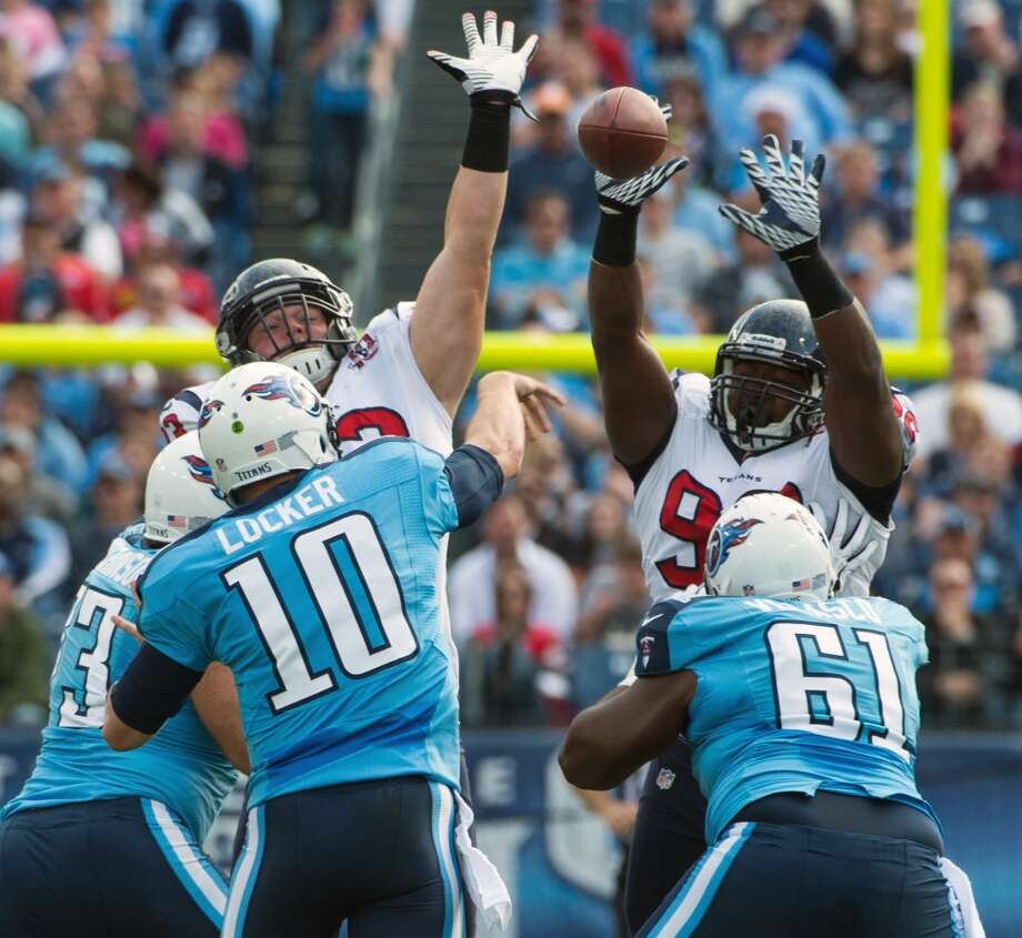 Dec. 29 – At Tennessee Time: Noon TV: CBS  Prediction: After blowing it last season, the Texans wrap up home-field advantage.  Record: 13-3 Photo: Smiley N. Pool , Chronicle
