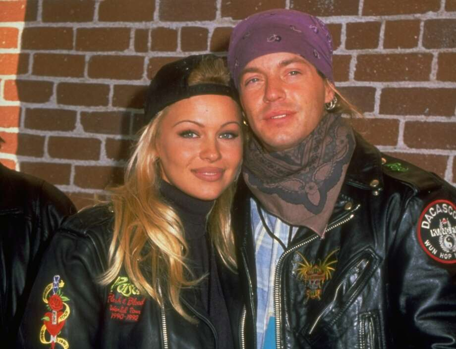 It's Bret Michaels in 1994, one of Pamela Anderson's many boyfriends over the years.
