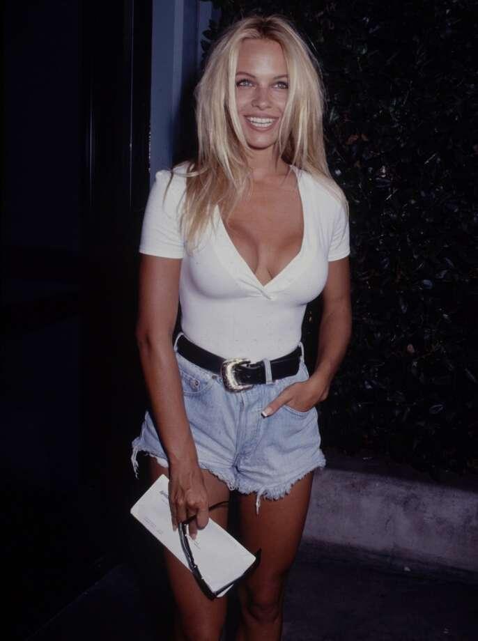 Pamela Anderson, 1992.