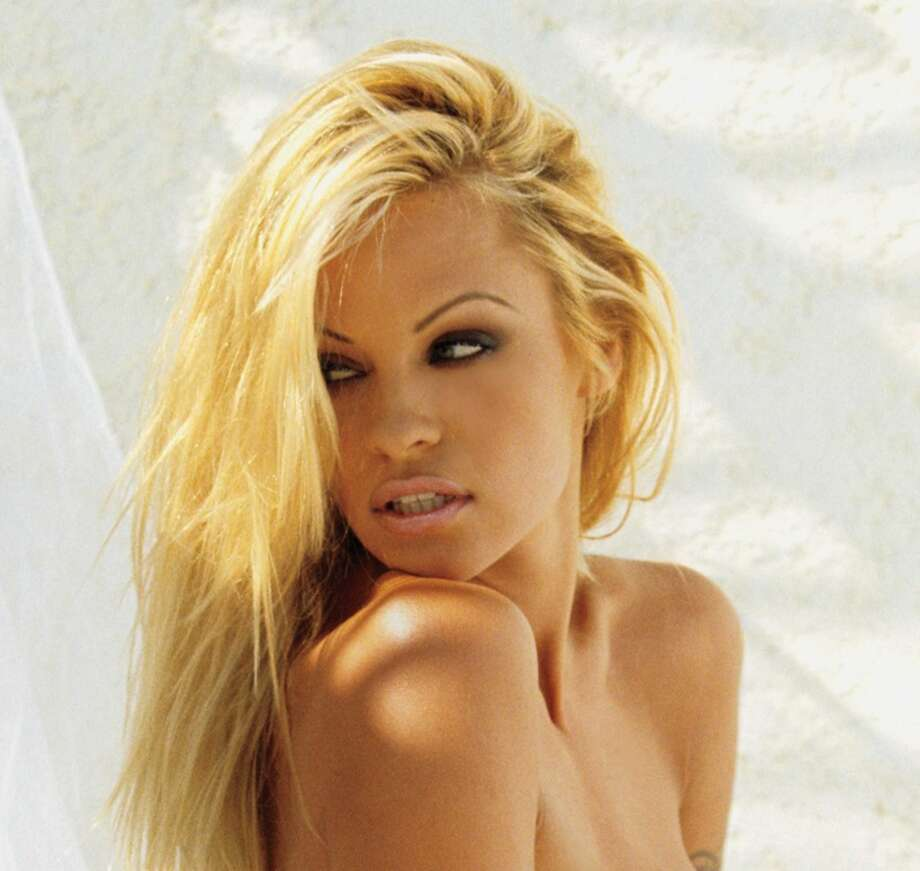 This photo is from a 2010 Playboy shoot, when Pamela Anderson, then in her 40s, appeared on the cover for the 13th time. Anderson first appeared on Playboy in 1989.