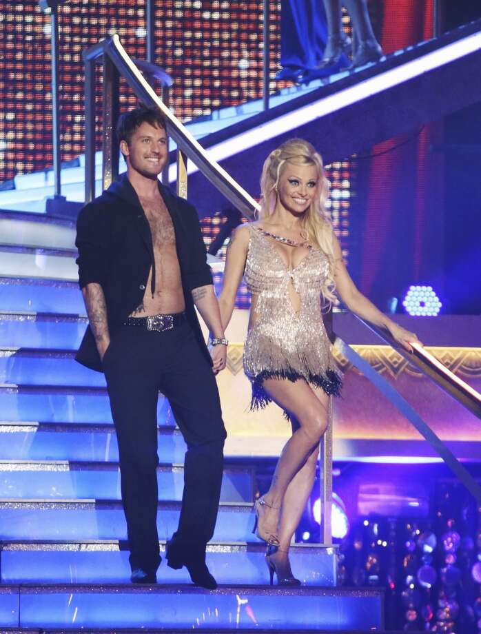 Pamela Anderson returned to ''Dancing with the Stars'' as an ''all-star'' in 2012. She was eliminated in the first week.