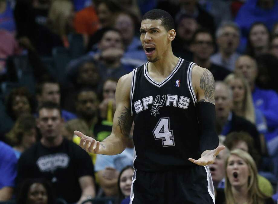 Guard Danny Green, normally one of the league's best 3-point shooters, made only 2 of 10 attemps in the Spurs' three losses to finish out the regular season. He still finished seventh in long-range accuracy. Photo: Sue Ogrocki / Associated Press
