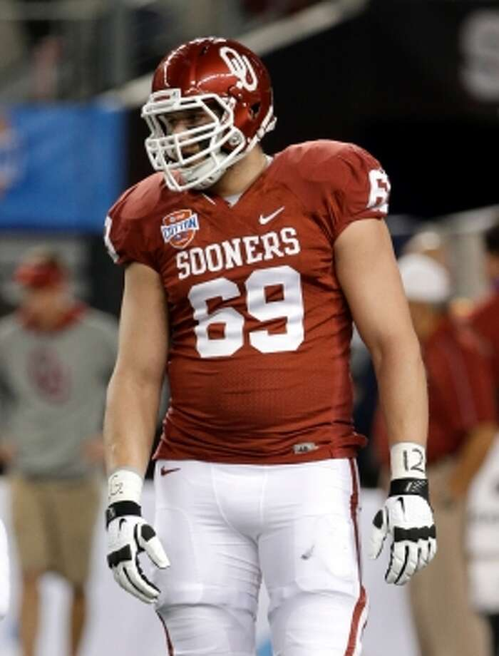 Lane JohnsonT, 6-7, 303, 4.69, Oklahoma  His stock has been soaring since the end of the season. Impressed scouts and coaches in all-star games and at the combine. The best athlete of all offensive linemen. He moves like a tight end. Has great balance, retreats and anchors well. Exceptional in space. Can hit on the road and move to the next level. Should be a top-10 pick.