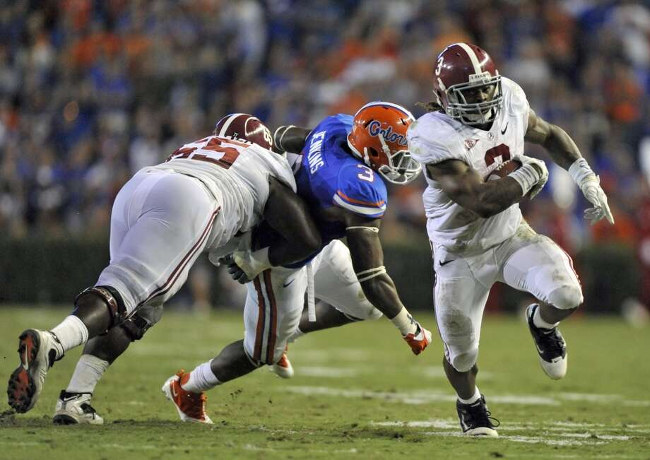 Chance WarmackG, 6-2, 317, 5.49, Alabama  The best guard in the draft was an outstanding college player who could become a perennial Pro Bowl selection. Lacks speed but has good enough quickness. A mauler with a mean streak. Powerful drive blocker. Wide body who is tough to knock off his feet. Once he gets into his man, he almost is impossible to get rid of. Should go among the top 10 picks.