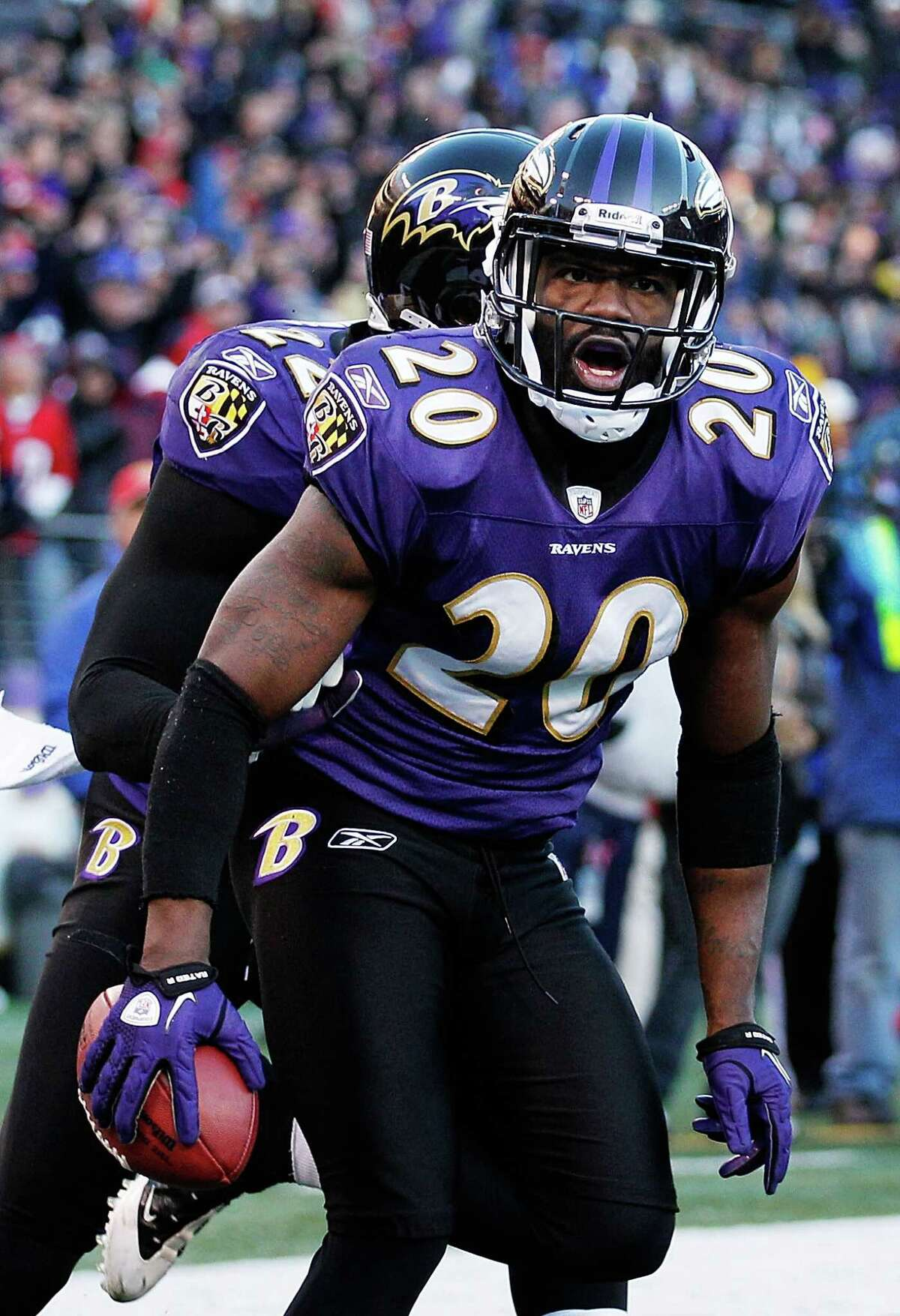 Ex-Raven Ed Reed returns to Baltimore with the Texans on Sept. 22.
