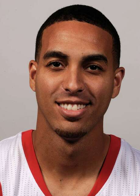 In this Oct. 1, 2012, photo, Houston Rockets' Kevin Martin poses during the NBA basketball team's media day in Houston. The Oklahoma City Thunder have traded Sixth Man of the Year James Harden to the Rockets, breaking up the young core of the Western Conference champions. The Thunder acquired guards Kevin Martin and Jeremy Lamb, two first-round picks and a second-round pick in the surprising deal that was completed Saturday night, Oct. 27, 2012. Oklahoma City also sent center Cole Aldrich, and forwards Daequan Cook and Lazar Hayward to Houston. (AP Photo/Pat Sullivan,File) Photo: Pat Sullivan, STF / AP