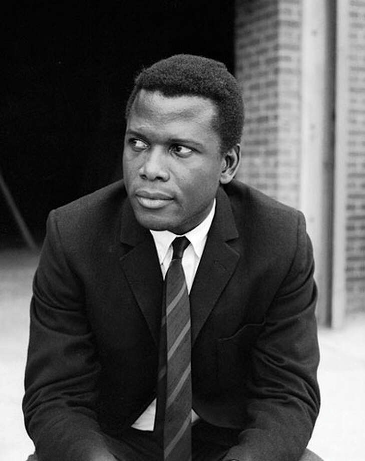 """Sidney Poitier, circa 1960Born: Feb. 20, 1927He became the first black person to win an Academy Award for best actor for his role in """"Lilies of the Field."""""""