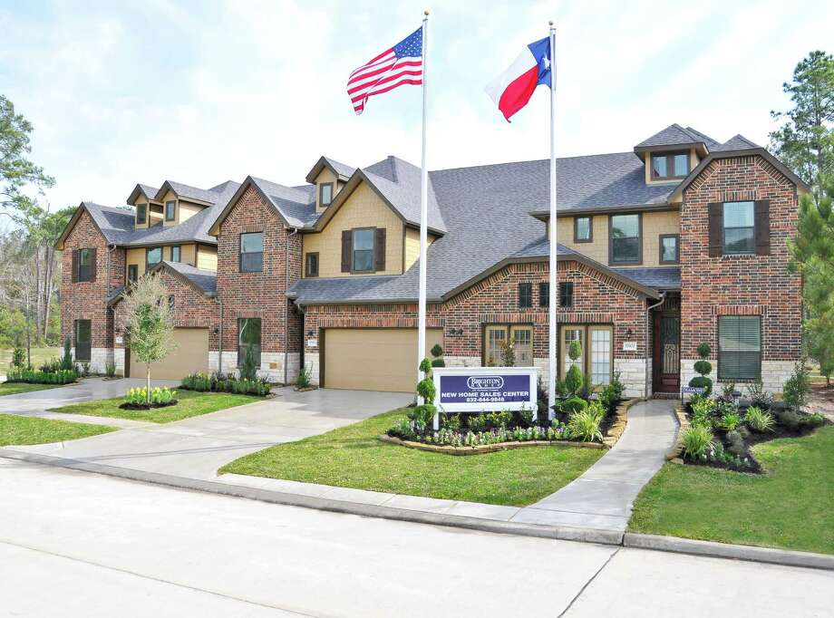 Eagle Springs has 50 homes ready for quick move-in, including low-maintenance townhomes by Brighton. Homes are priced from the $150,000s to the $500,000s in this wooded community, in the Humble school district.