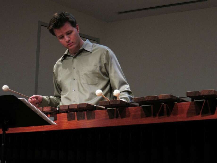 Matthew McClung is the principal percussionist for the River Oaks Chamber Orchestra. Photo: Courtesy Matthew McClung