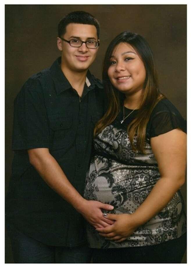 Anthony Contreras, left, and Elizabeth Mayorga Photo: HPD
