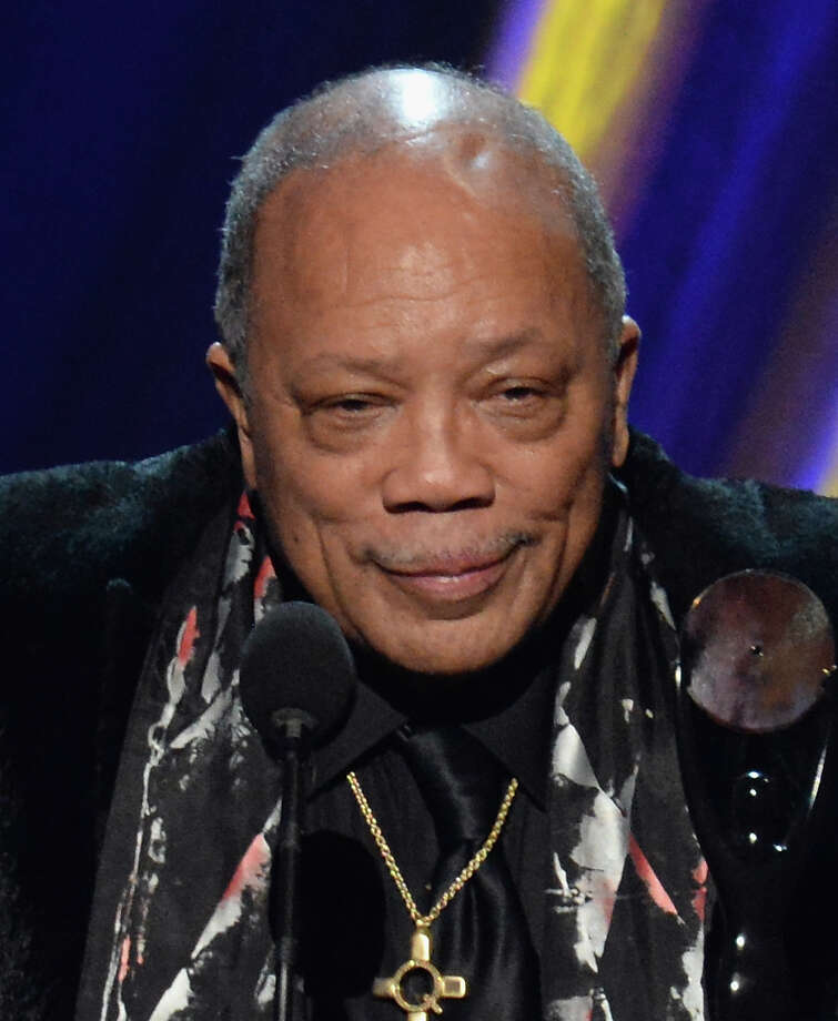 Quincy Jones at the 28th Annual Rock and Roll Hall of Fame Induction Ceremony at Nokia Theatre L.A. Live on April 18, 2013 in Los Angeles.  (Photo by Jeff Kravitz/FilmMagic) Photo: Jeff Kravitz, Getty Images / 2013 Jeff Kravitz