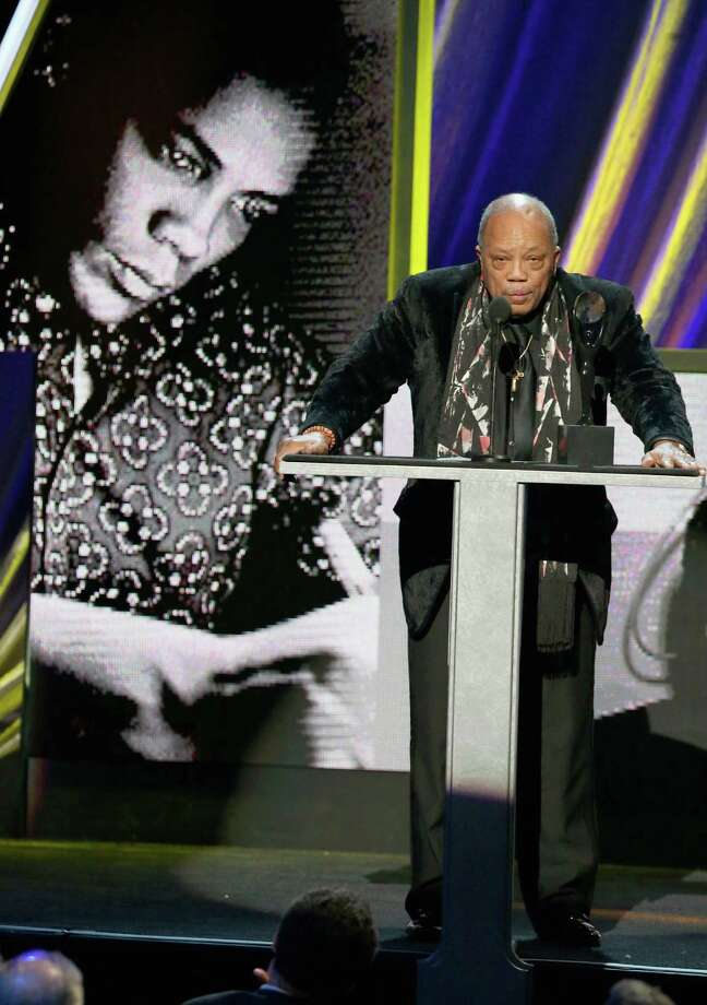 Quincy Jones speaks onstage during the 28th Annual Rock and Roll Hall of Fame Induction Ceremony at Nokia Theatre L.A. Live on April 18, 2013 in Los Angeles. (Photo by Kevin Kane/WireImage) Photo: Kevin Kane, Getty Images / 2013 Kevin Kane