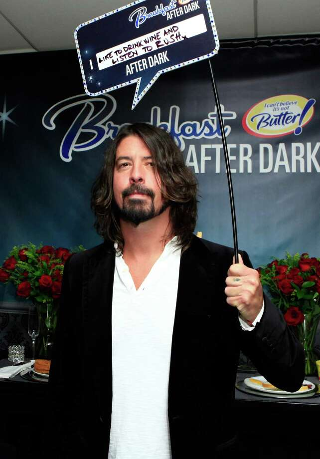 Dave Grohl attends the 28th Rock and Roll Hall of Fame Induction Ceremony at Nokia Theatre L.A. Live on April 18, 2013 in Los Angeles.  (Photo by Gabriel Olsen/WireImage) Photo: Gabriel Olsen, Getty Images / 2013 WireImage