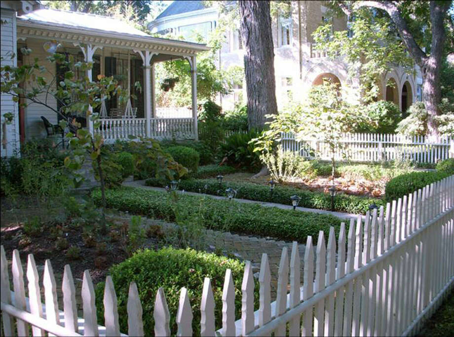Homeowners of historic homes can save water with a variety of landscape options. Photo: Courtesy Mike Pecen