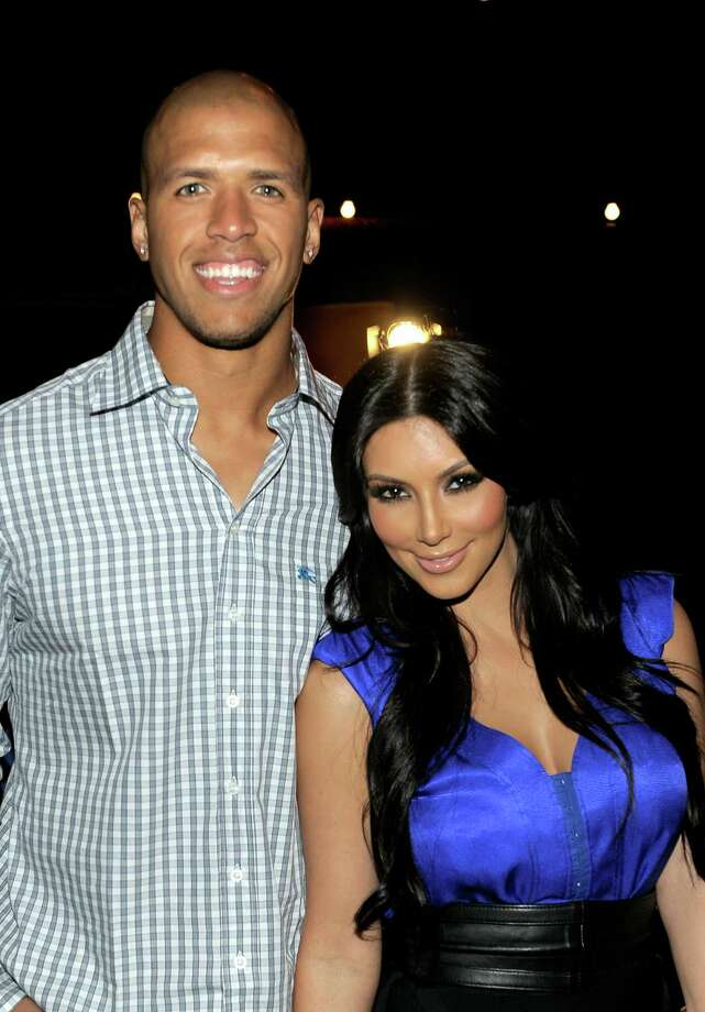 Kim also dated Miles Austin of the Dallas Cowboys. Photo: Charley Gallay, Getty Images For SW / Getty Images North America