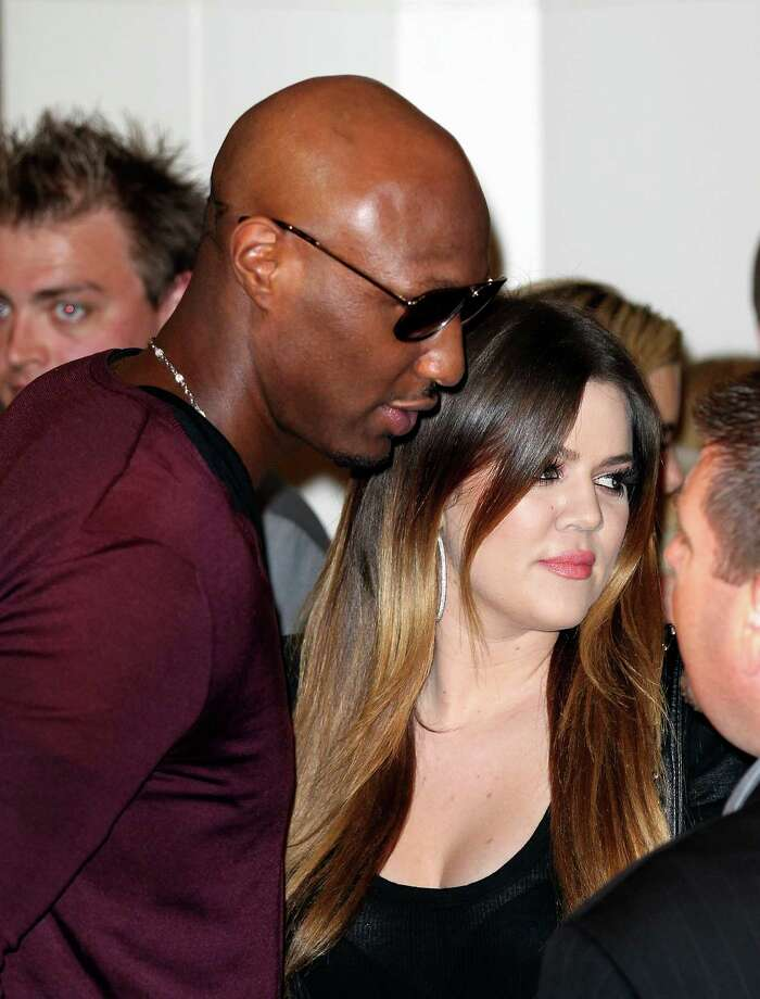 After one month of dating, Khloe and Lamar Odom tied the knot. The couple then had their own spin-off show Khloe and Lamar. Photo: Rob Griffith, Associated Press / AP